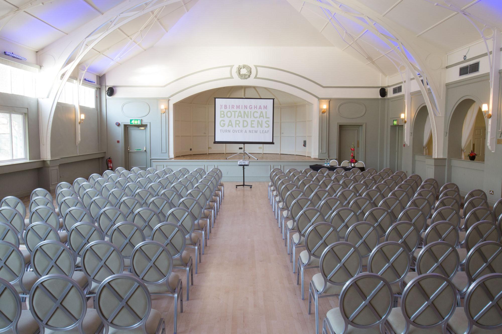 Birmingham botanical gardens corporate events for Terrace theatre