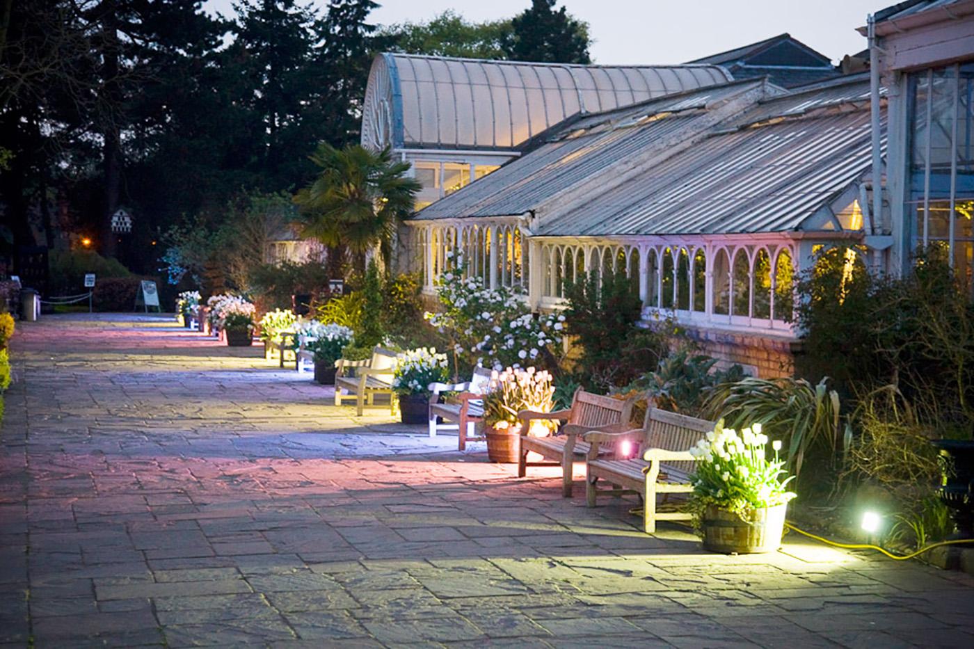 Birmingham botanical gardens private parties for Birmingham botanical gardens birmingham al