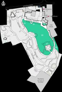 Pleasure Gardens Map