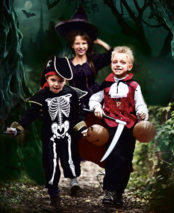 Halloween at Birmingham Botanical Gardens