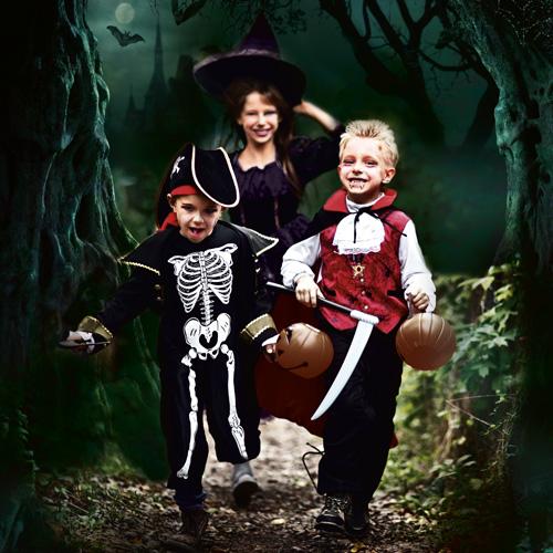 Halloween at Birmingham Botanical Gardens