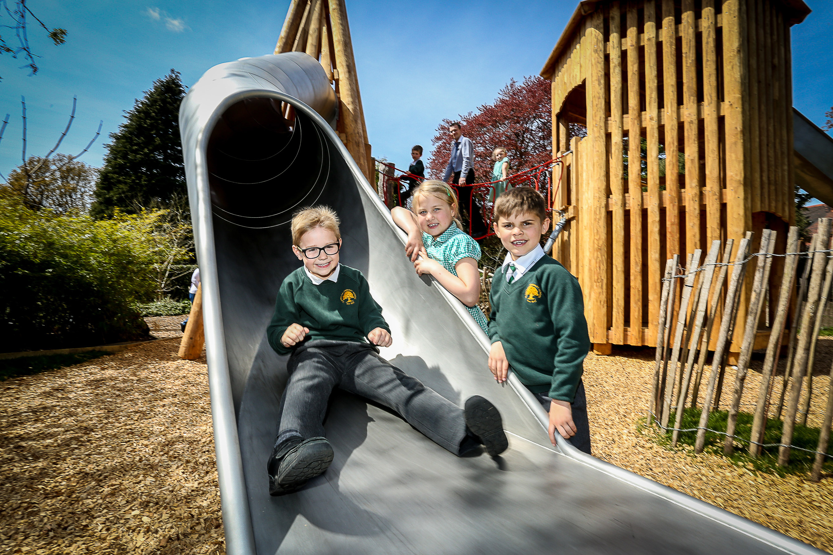 Brand New Playground In Time For School Holidays