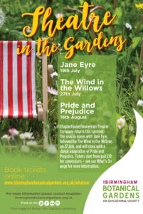 Jane Eyre at Birmingham Botanical Gardens 2017
