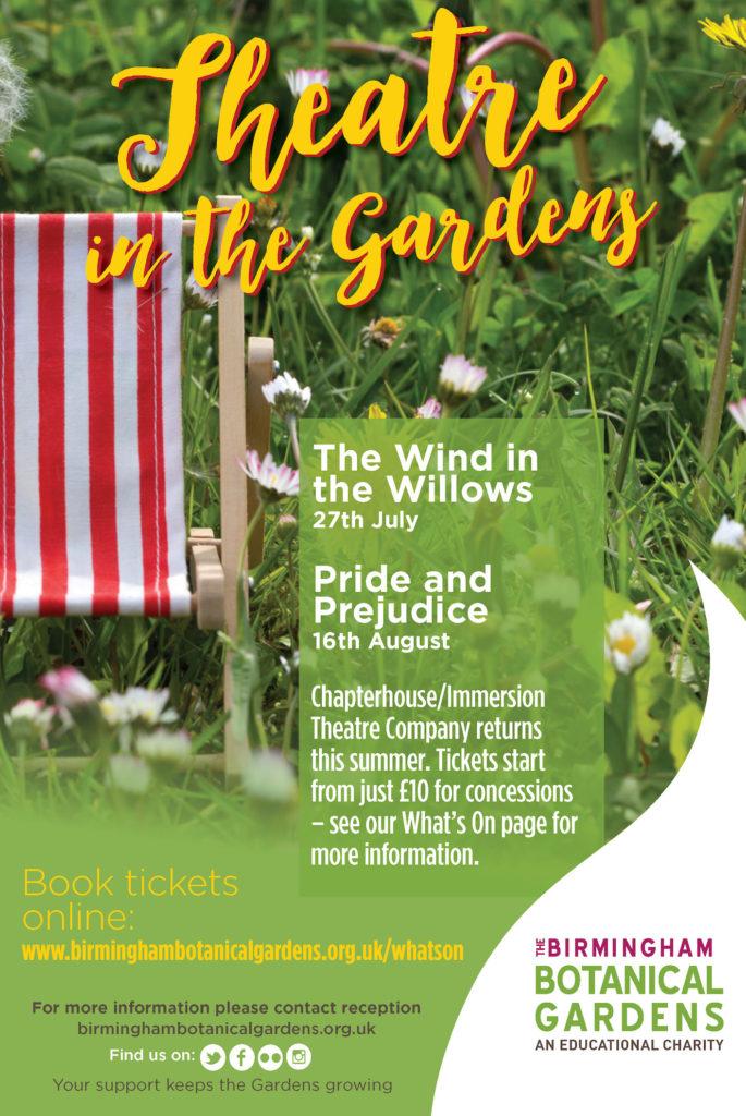 Pride and Prejudice at Birmingham Botanical Gardens