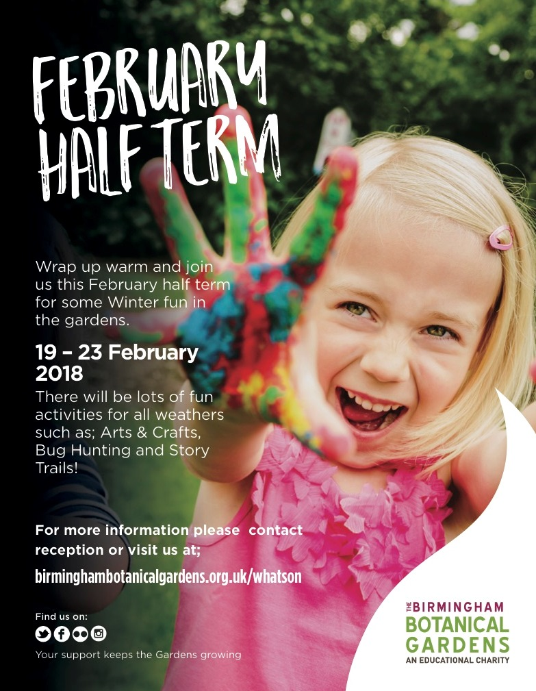 February School Half Term Fun 2018