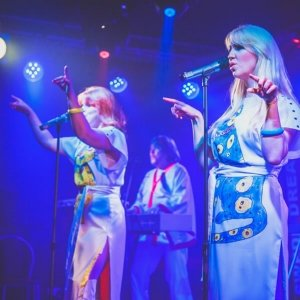 Abba Tribute Band Playing at Birmingham Botanical Gardens