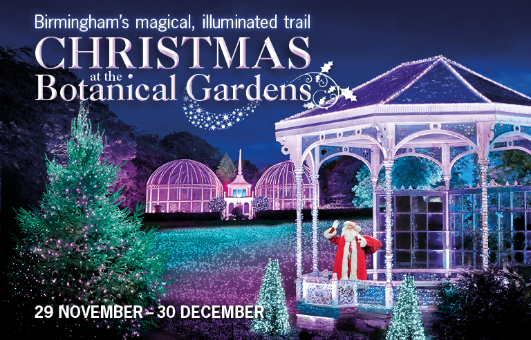 Christmas at Birmingham Botanical Gardens 2017