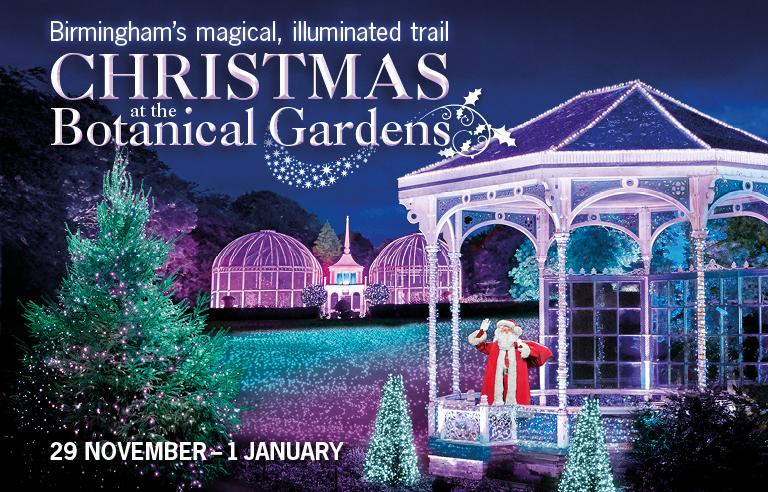 Christmas at the Birmingham Botanical Gardens 2017 - Christmas Lights