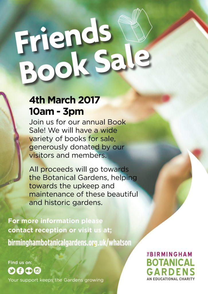 Friend's Book Sale Birmingham Botanical Gardens