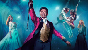 Outdoor cinema - the greatest showman