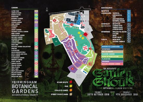 Halloween Events Birmingham 2018 - Halloween Scaremaze Events