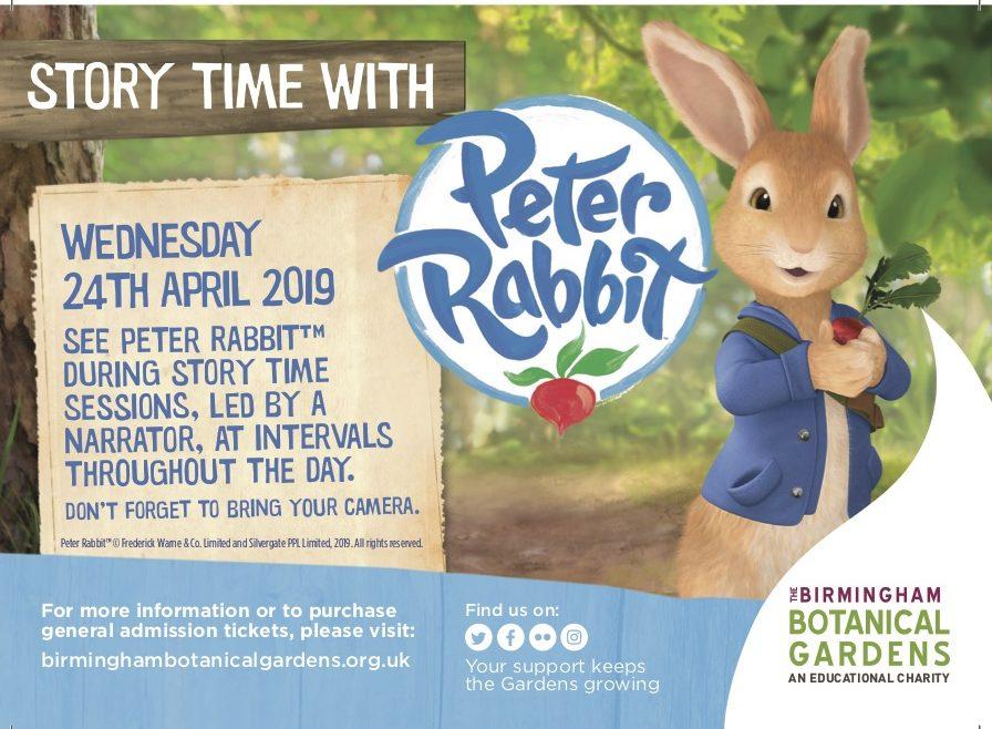 Meet Peter Rabbit 2019 Birmingham
