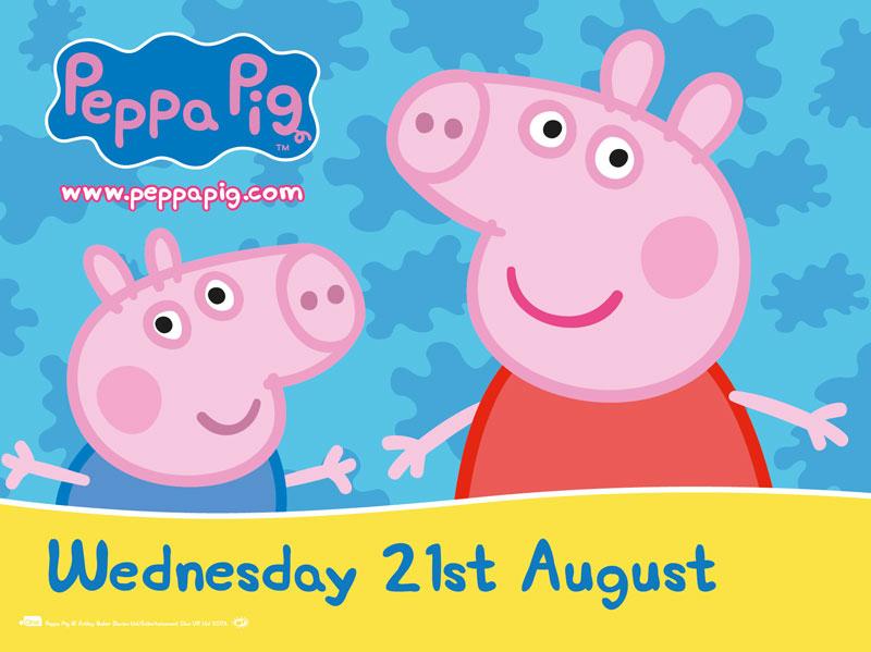 Peppa Pig Meet And Greet Birmingham Botanical Gardens