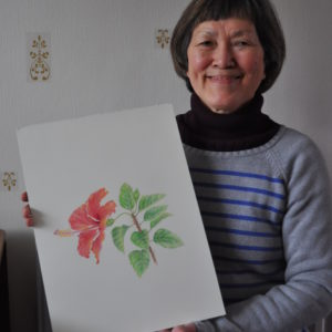 Watercolour Pencil Art Class by Diane Gallivan